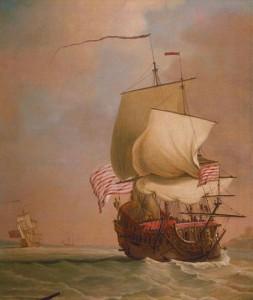 इस्ट इंडियामन व्यापारी जहाज - East Indiaman Sailor Ship