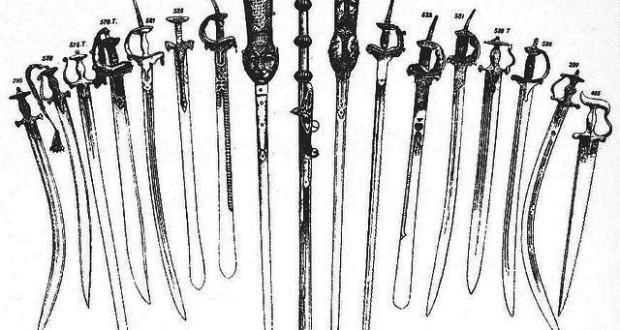 Maratha Sword Patterns - मराठा तलवारींचे प्रकार
