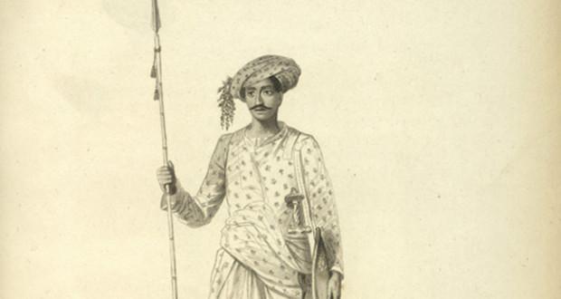 मराठा पायदळ सैनिक - Maratha Soldier